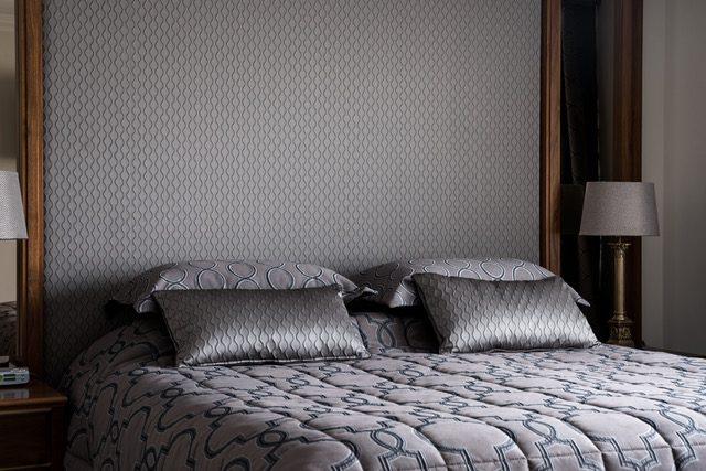 grey-fabric-bedhead-queen-bed-pillows